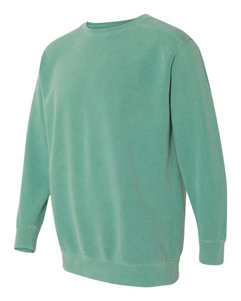 comfort colors sweatshirt comfort colors 1566 garment dyed ringspun crewneck