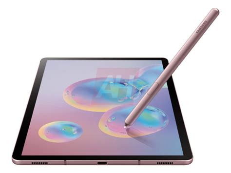 Samsung Galaxy Tab S6 Event by Samsung Galaxy Tab S6 Leaks Out In New Renders Android Authority