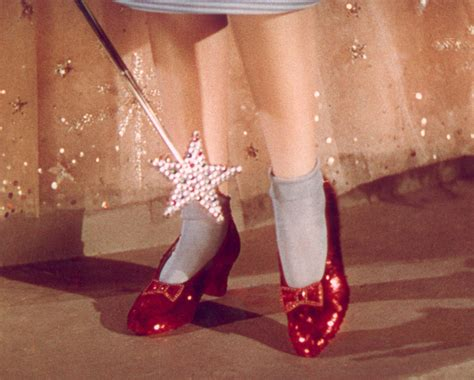 red house shoes judy garland s wizard of oz ruby red slippers to go under the hammer extravaganzi