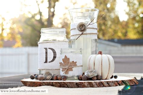 home decor centerpieces rustic fall centerpiece tutorial love of family home
