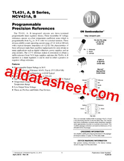 transistor tl431 datasheet datasheet ul led t8 就要健康网
