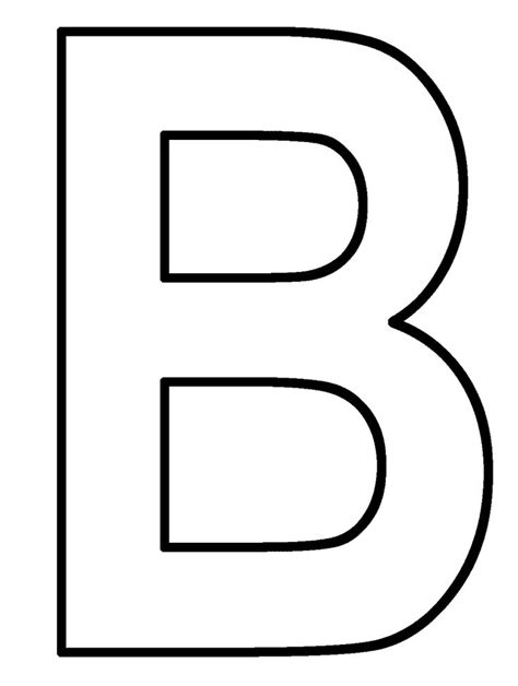Coloring Page Letter B by 8 Best Letter B Coloring Pages Images On