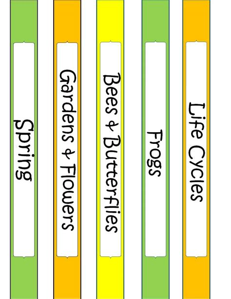 binder label template the idea backpack binder covers and spine labels for themes