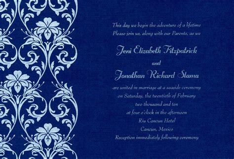 Afbceeececff Perfect Royal Blue Wedding Invitation Templates Free Fwauk Com Blank Invitation Cards Templates Blue