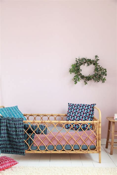 Wicker Beds And Cribs For Kids Petit Small Wicker Crib Bedding