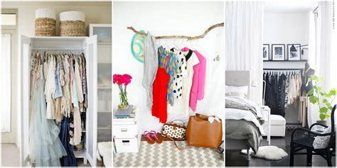 clothing storage small room storage ideas for a bedroom without a closet genius