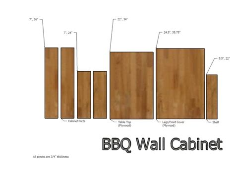 how to make a fold away bbq table and grilling cabinet