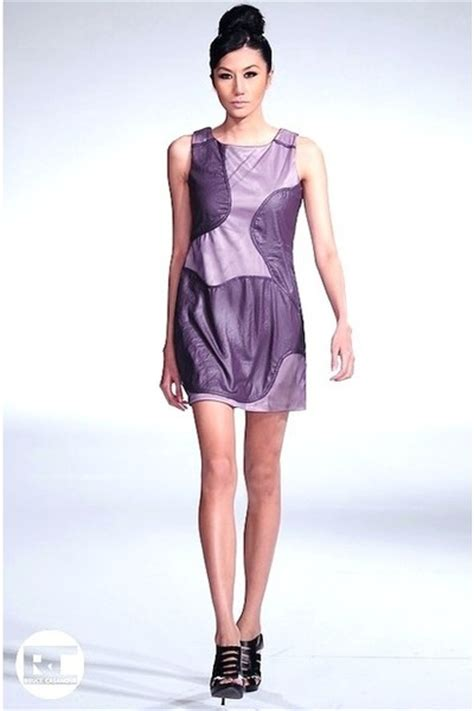 purple dresses black shoes quot purple dress fashion week
