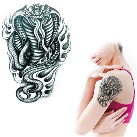 get cheap tattoos tribal arm aliexpress