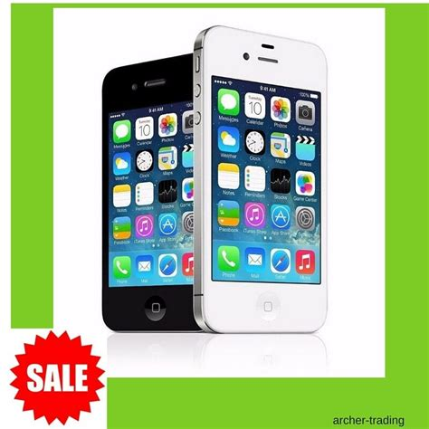 iphone at t apple iphone 4 gsm factory unlocked at t t mobile talk sim cards ebay