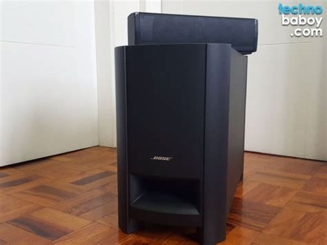 bose cinemate 15 home theatre speaker system review
