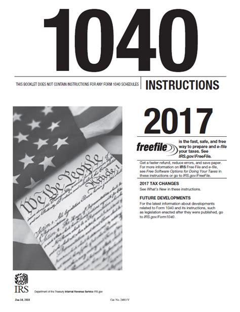 form 1040 instructions 2017 tax table www 2017 form 1040 instructions