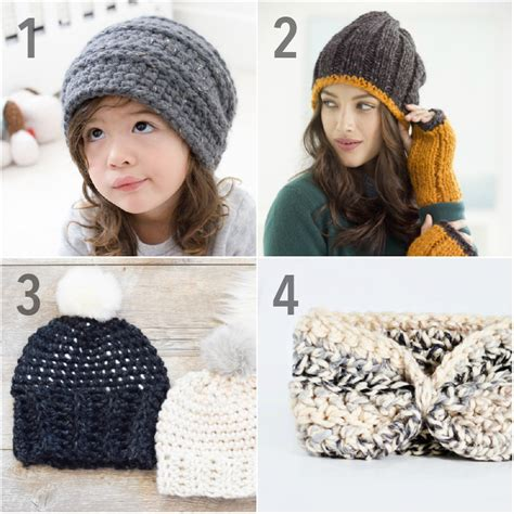 crochet hat pattern thin yarn 15 free chunky crochet patterns from head to toe using