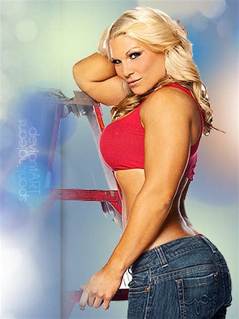 wwe hot beth beth phoenix sexy as strong by spankingjeans on deviantart