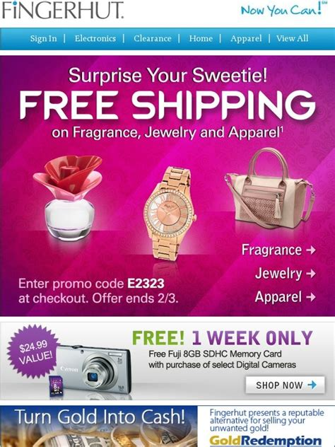 fingerhut fingerhut  shipping  jewelry fragrance