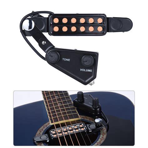 Transducer Gitar Akustik 12 Dengan Tone Volume transducer gitar akustik 12 dengan tone volume black jakartanotebook