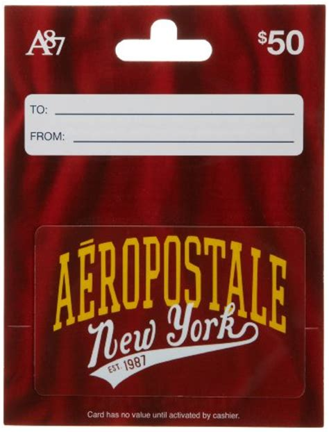 How To Use Aeropostale Gift Card Online - aeropostale gift card 50 shop giftcards