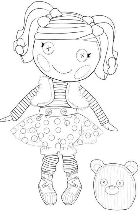 kids n fun com 16 coloring pages of lalaloopsy