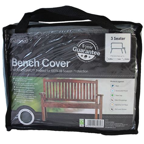3 seater bench cover 3 seater bench cover premium range pvc backed polyester grey