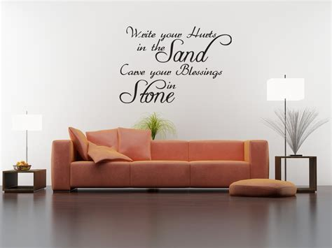 how to your wall stickers wall quote decal vinyl sticker write your hurts in the