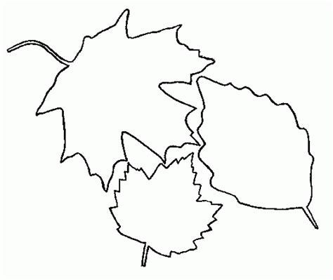 Leaf Coloring Pages Coloringpages1001 Com Leaves Coloring Page