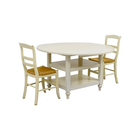 drop leaf table and chairs second 62 pottery barn pottery barn shayne drop leaf table
