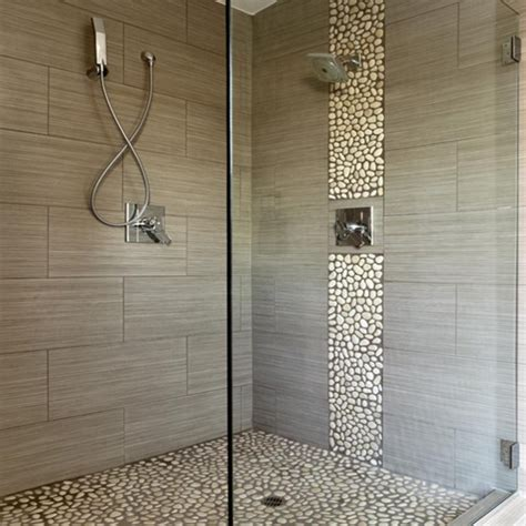 shower wall tile murals lit up your bathroom with - 12x24 Tile Shower