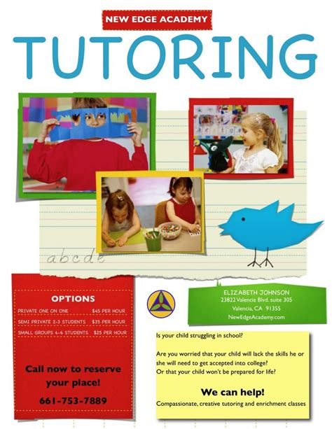 tutor flyer template free 17 best images about tutoring on melbourne