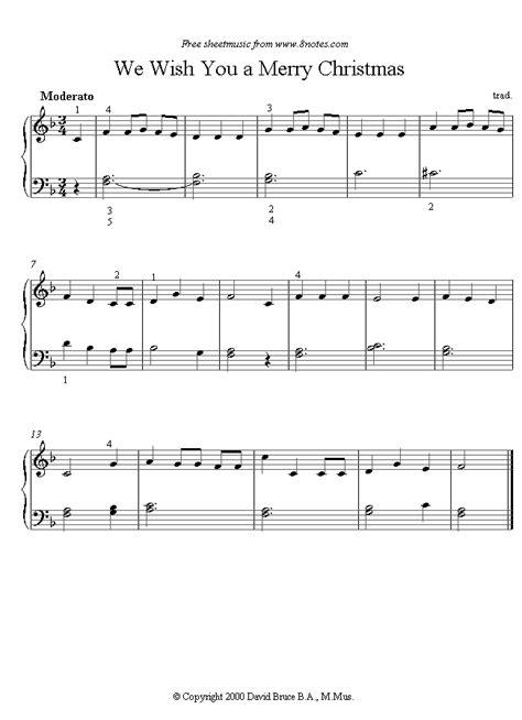 merry christmas sheet   piano notescom