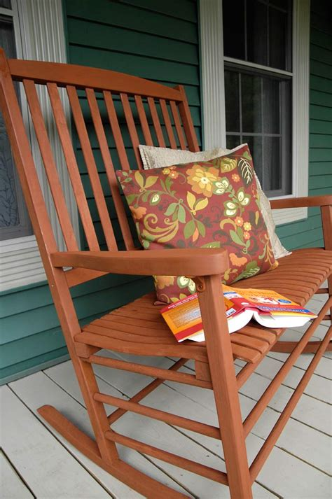 overdue rocking chair redo plus a color wheel lesson living rich on lessliving rich on less