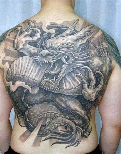 back tattoo japanese dragon 90 japanese dragon tattoo designs for men manly ink ideas