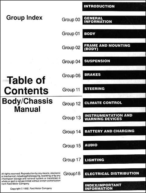 free auto repair manuals 1993 ford explorer spare parts catalogs 1993 ford aerostar ranger explorer repair shop manual set original