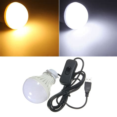 Lu Led Bulb Emergency 5w 5w usb led light bulb with switch for outdoor cing hiking emergency 5v alex nld