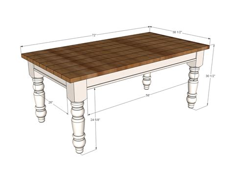 kitchen bench plans ana white husky farmhouse table diy projects