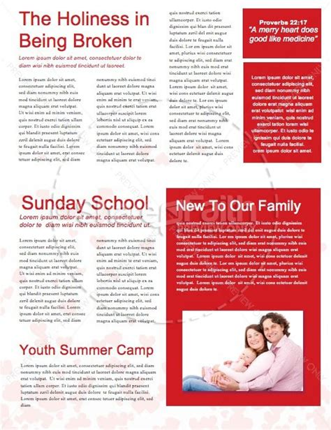 valentines newsletter template happy s day one another church newsletter