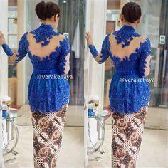 Batik Mutia Maroon Modis 50 gambar model baju kebaya modern lengan pendek sabrina terbaru dan modis kebaya