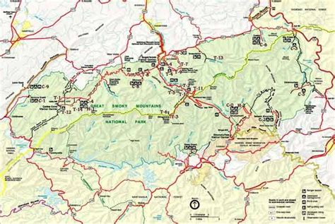 smoky mountains tennessee map smoky mountains national park map great smoky stuff