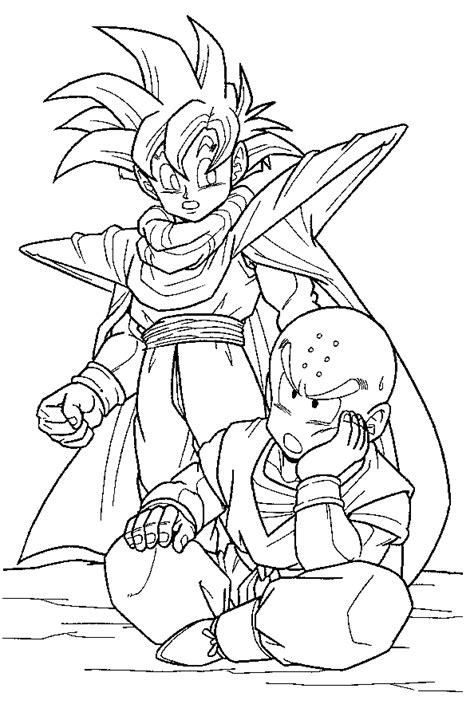 dragon ball z coloring pages for adults dragon colling pages dragon ball z 2 coloring page
