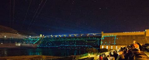 grand coulee dam laser light photo gallery laser light show at grand coulee dam the