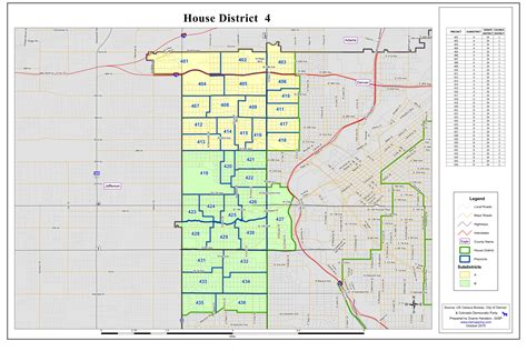 house district map colorado house district map arizona map