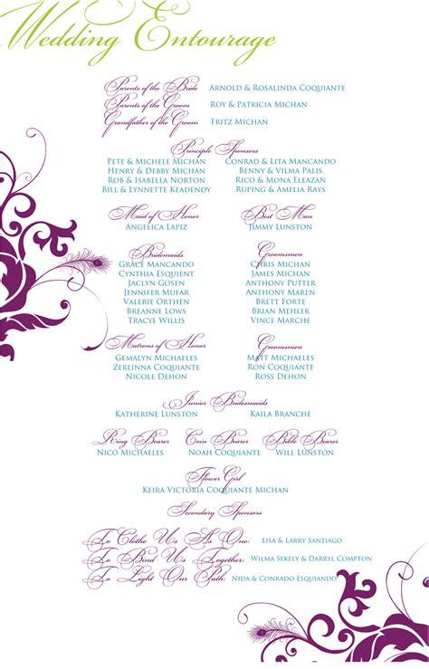 wedding entourage invitation template wedding invitation wording wedding invitation templates entourage