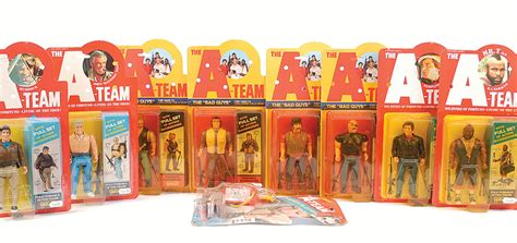 a team figures galoob quot the a team quot poseable figures which includes