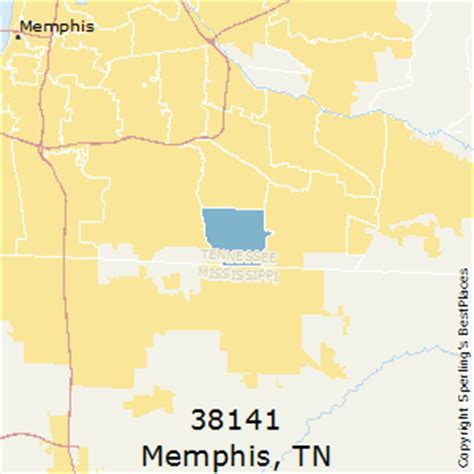 zip code map for memphis tn best places to live in memphis zip 38141 tennessee