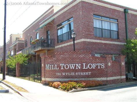 mill town milltown lofts in atlanta ga atlantatownhomes com