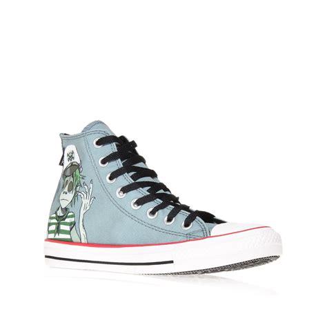 Converse Chuck Grey converse chuck all hi in gray grey lyst