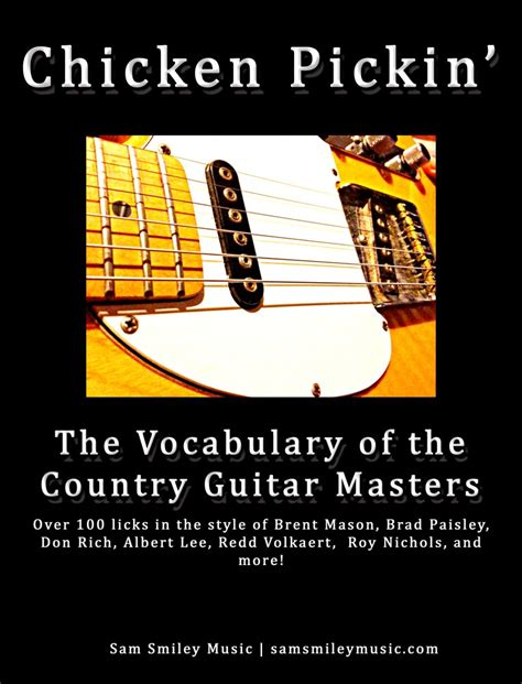 country guitar soloing techniques learn country hybrid picking banjo rolls licks techniques books chromatic country licks fundamental changes