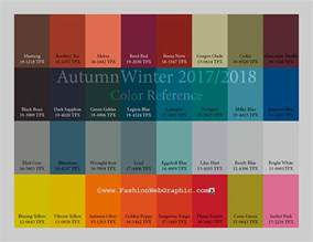 fall 2017 color trends aw2017 2018 trend forecasting on pantone canvas gallery