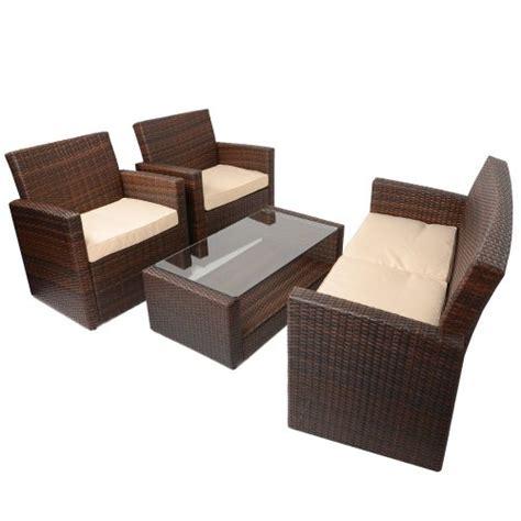 rattan sofa and coffee table 4pc tuscany rattan aluminium sofa set garden