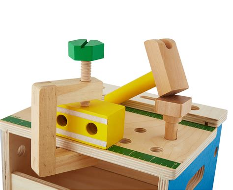 melissa doug tool bench melissa doug mini hammer saw tool bench playset