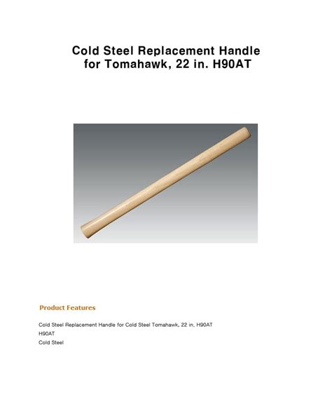 cold steel tomahawk replacement handle 까만돌 콜드스틸 토마호크 핸들 cold steel replacement handle for